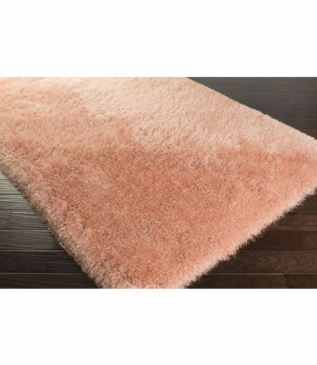 Monster Shag Rug in Peach