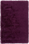 Monster Shag Rug in Plum