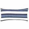 Montego Stripe Indigo Chenille Decorative Pillow