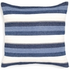 On Sale Montego Stripe Indigo Chenille Euro Sham