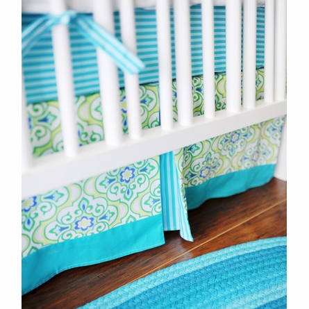 Monterey Bay Crib Skirt