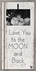 Moon and Back Vintage Frame