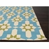 Moravian Indoor/Outdoor Rug in Blue