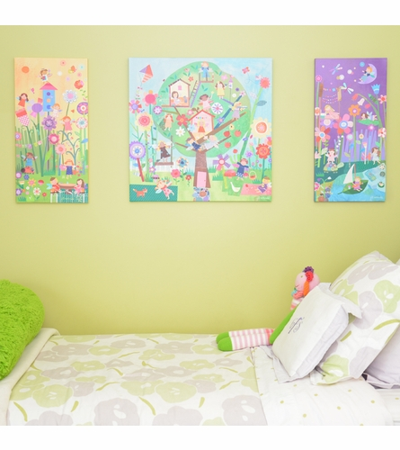 Morning Fairies Canvas Wall Art
