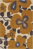 Morning Glory Orange Amy Butler Rug