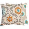 Moroccan Burst Large Throw Pillow