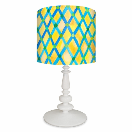 Moroccan Painted Pattern Lamp