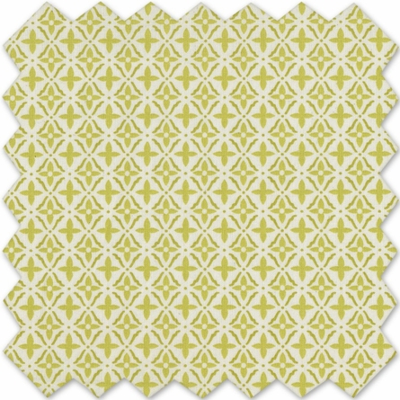 Morocco Green Crib Sheet