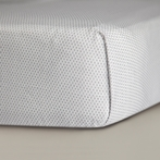 Mosi Crib Sheet in Pewter