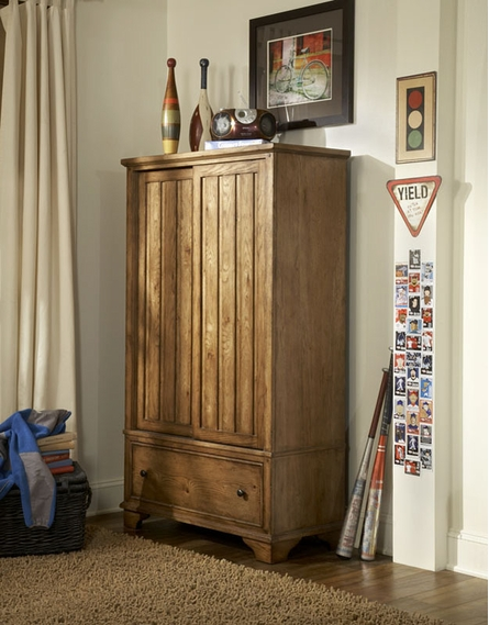 Mountain Cabin Bookcase Armoire