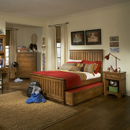 Mountain Cabin Panel Bed