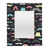 Moustaches Rectangular Mirror