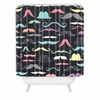 Moustaches Shower Curtain
