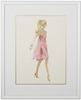 Movie Mixer Framed Couture Barbie Art Print