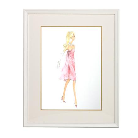 Movie Mixer Framed Couture Barbie Art Print By Art For Kids