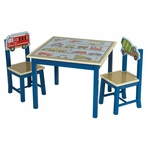 Moving All Around Transportation Table amd Chairs Set