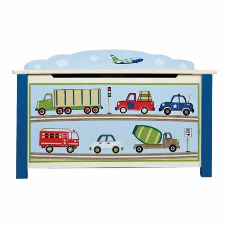 Moving All Around Transportation Toy Box
