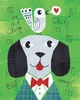 Mr. Dog Green Art Print