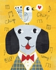 Mr. Dog Yellow Art Print