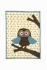 Mr. Wise Guy Owl Quilted Blanket