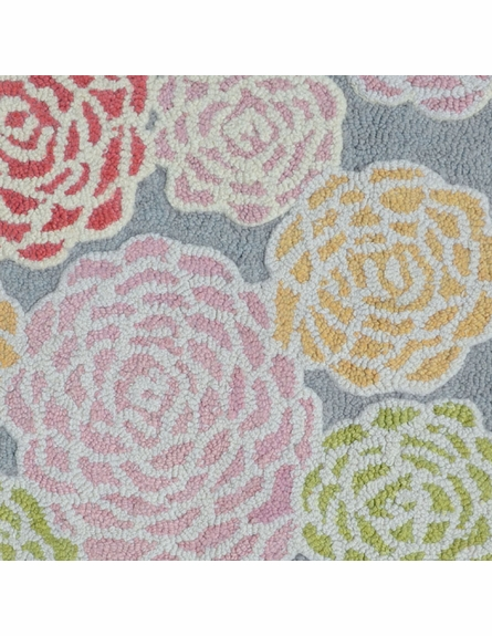Multi Color Rose Rug