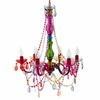 Multi-Colored Large Gypsy Chandelier