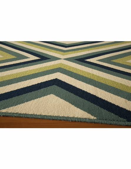 Multi Diamond Baja Rug