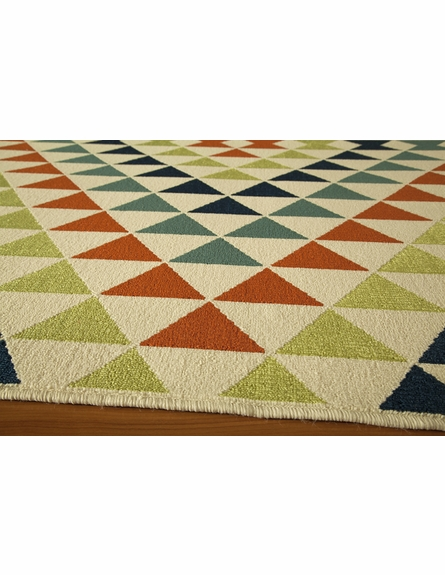 Multi Triangles Baja Rug