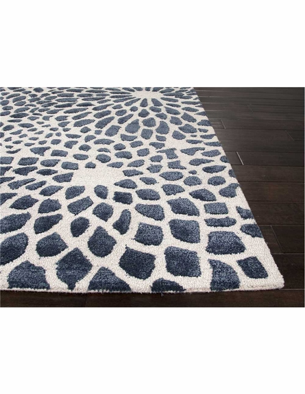Mumford Floral Rug in Navy