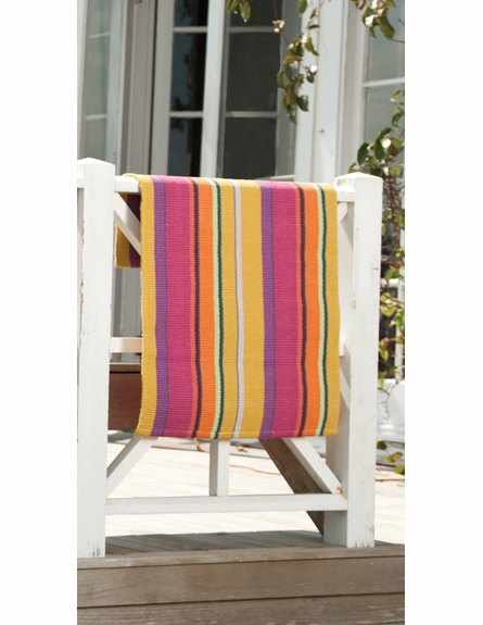 Mums Stripe Cotton Rug