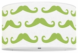 Mustache Apple Green
