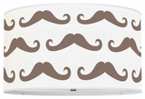 Mustache Chocolate Brown