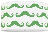 Mustache Kelly Green