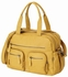 Mustard Faux Buffalo Carry All Diaper Bag