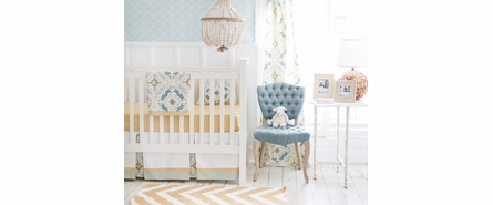 Mustard Seed Solid Crib Sheet