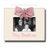 My Baptism Rose Picture Frame