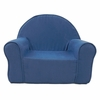 My First Chair in Blue Microsuede