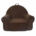 On Sale My First Chair in Chocolate Microsuede