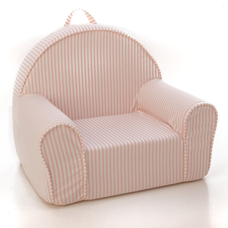 My First Chair In Pink Stripe