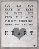 My Heart Vintage Framed Art Print