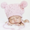 My Lil Bear Hat in Pink