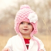 My Lil Snowbunny Hat in Pink