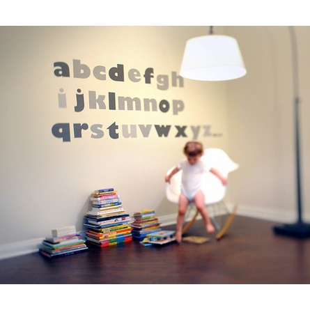 My Name Is Alphabet Fabric Wall Decals