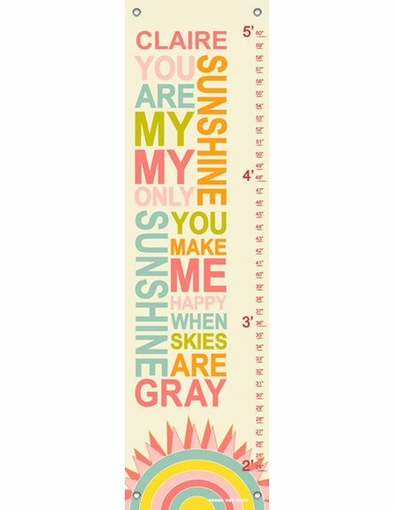 My Only Sunshine Candy Growth Chart