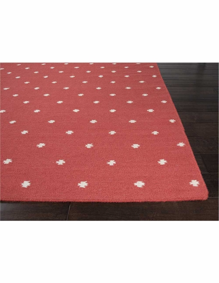 Myriam Dots Rug in Chili Pepper