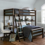 myRoom Loft Twin Bunk Bed