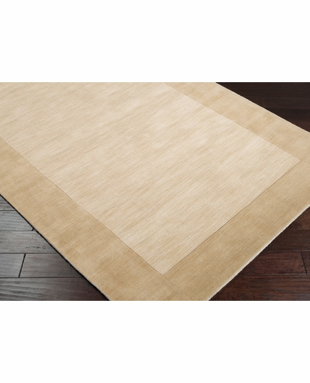 Mystique Border Rug in Beige