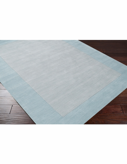 Mystique Border Rug in Slate