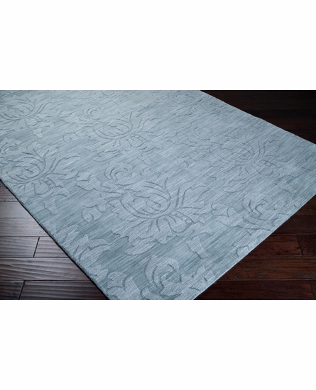 Mystique Floral Rug in Moss Gray