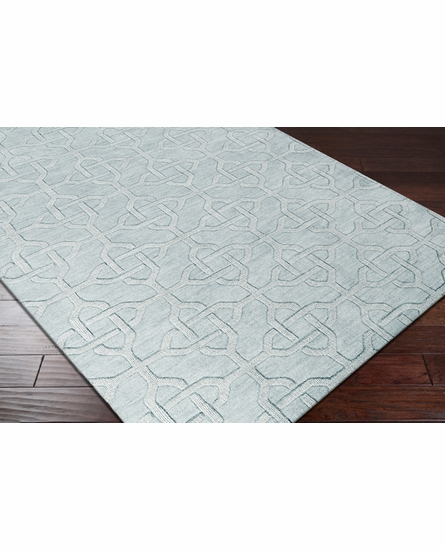 Mystique Knots Rug in Gray